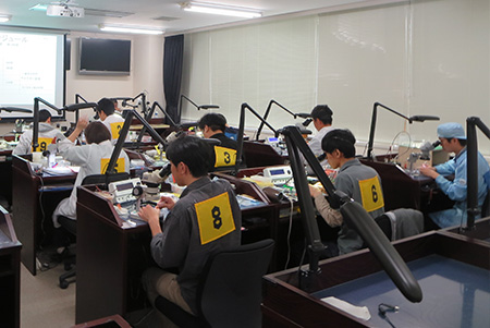 Iwate Mechanical Watchmaker Skills Assessment System