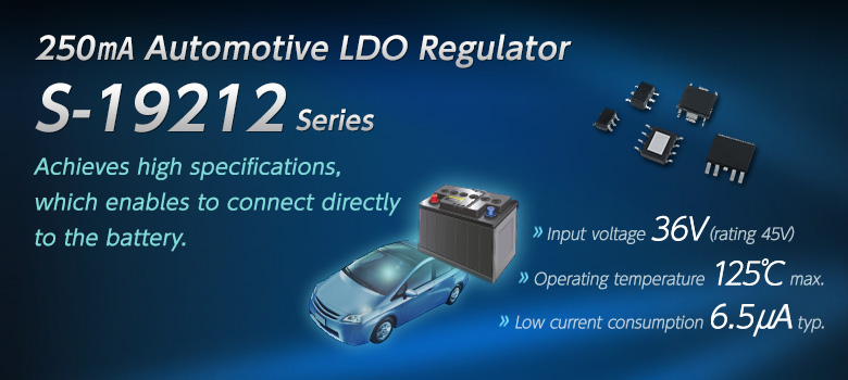 Automotive LDO Regulator S-19212